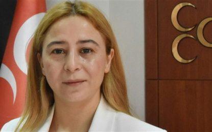 MHP'li kadın milletvekilinden TBMM'de asker selamı