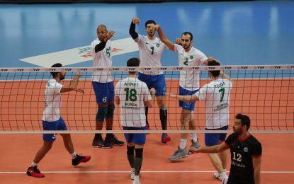 TVF Erkekler Birinci Ligi A Grubu'nda Bursa ve Konya Büyükşehir Belediyespor Karşılaştı