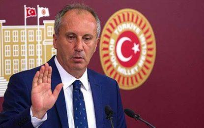 Muharrem İnce'den yeni parti yorumu: Asıl bölücü Erdoğan'dır