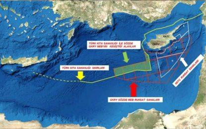Adalar (Ege) Denizi Türk Kıta Sahanlığı ve MEB'i