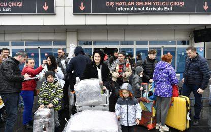 Ukrayna'dan ilk turist kafilesi geldi, Kayseri'ye yapılan charter sefer sayısı beşe yükseldi