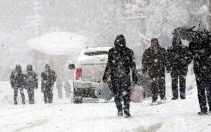 Meteoroloji'den kar yağışı uyarısı! 29 Aralık Pazar hava durumu