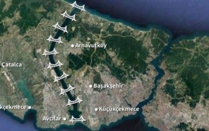 MİLLÎ MERKEZ; KANAL İSTANBUL PROJESİNE HAYIR!