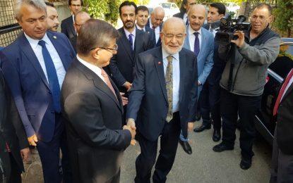 Temel Karamollaoğlu'ndan Ahmet Davutoğlu'na tebrik