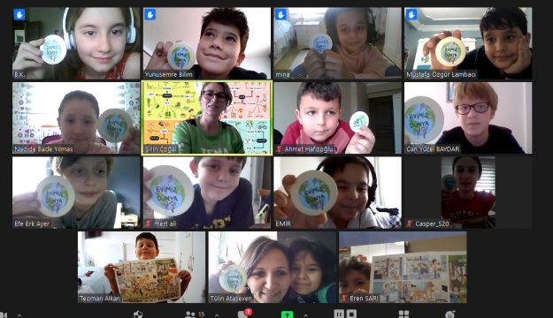 Filiz Okulu Öğrencileri Evimiz Dünya Projesi ile Doğayı Öğreniyor