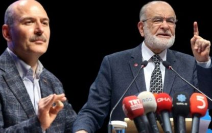 Karamollaoğlu'ndan Sedat Peker çıkışı! Soylu derhal istifa etmeli