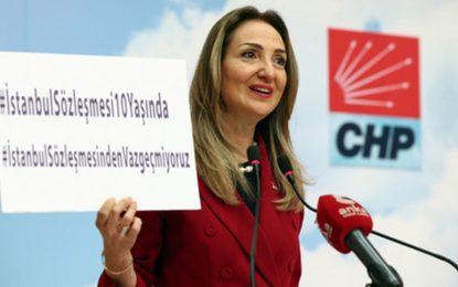 """CHP Kadın Kolları Genel Başkanı Aylin Nazlıaka'dan açıklama  """"KADIN CİNAYETLERİNİN SORUMLUSU HÜKÜMET"""""""